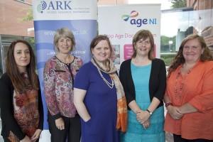 From left: Sarah Lawrence, Gillian Robinson, Gemma Carney, Paula Devine and Elizabeth Martin
